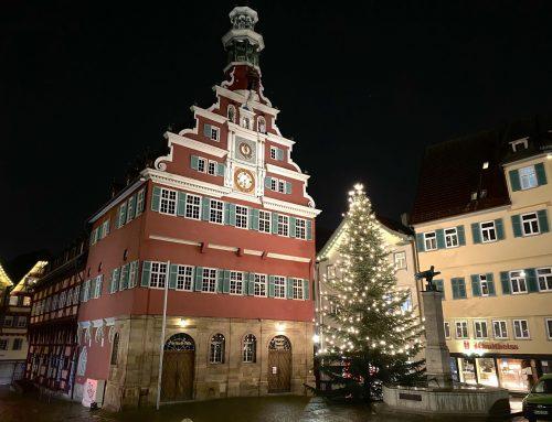 Weihnachtsgrüsse der Freien Wähler Esslingen e.V.