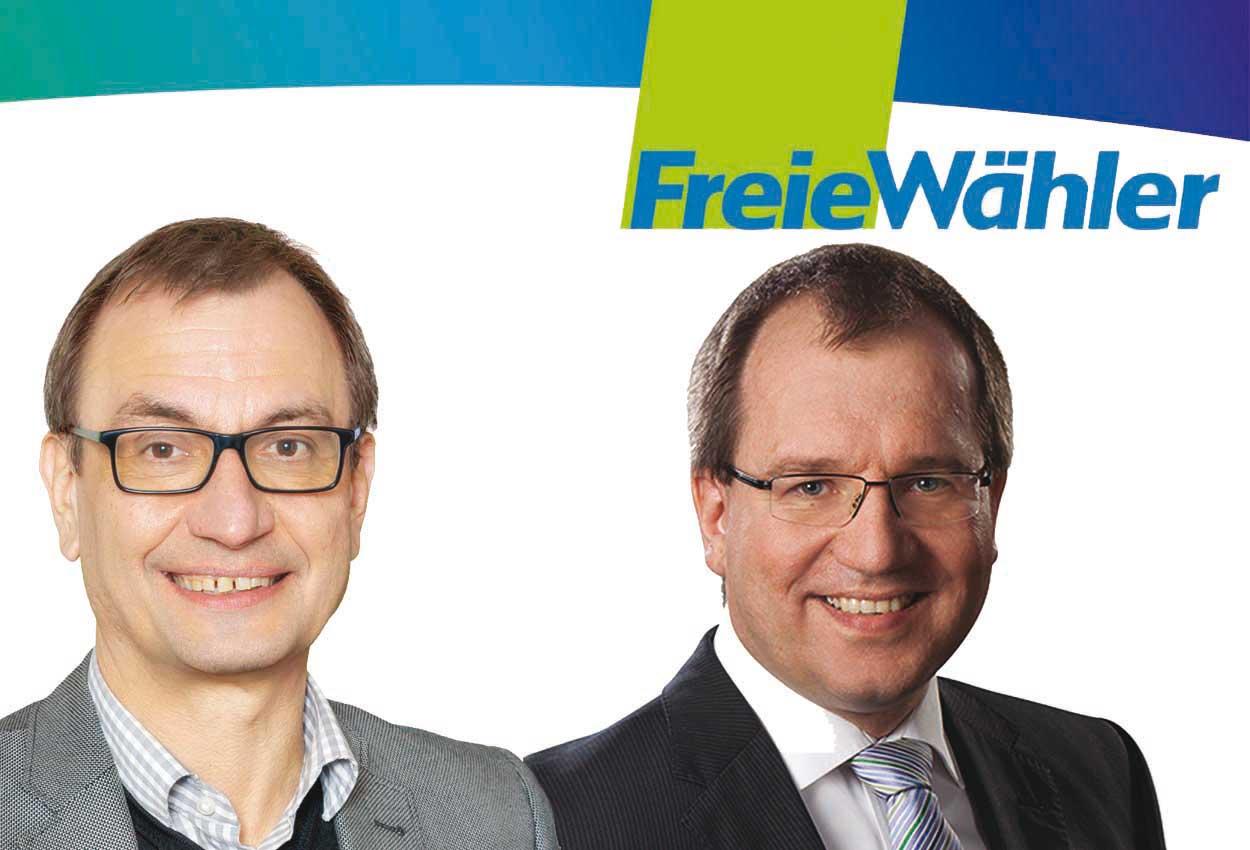 Dr. Peter Dietl, Stv. Vereinsvorsitzender (erster StV) und Hermann Falch, Vereinsvorsitzender