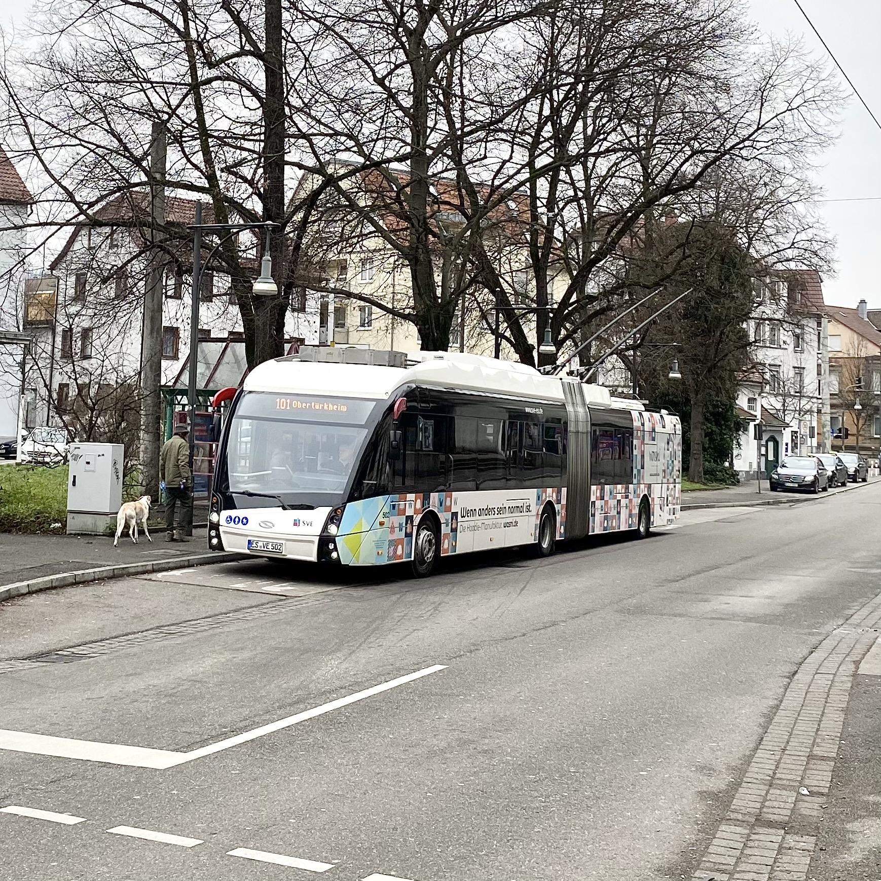 """""""Eine fulimante Bauchlandung für beim Ausbau des Oberleitungsnetzes der SVE"""" sagt der Vereinsvorsitzende und Gemeinderat Hermann Falch"""